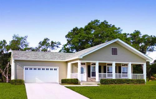 Savannah Exterior Wilmington Palm Harbor Homes