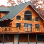 Save Thousands New Log Home