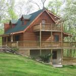 Secluded Log Home Getaway Near Indiana University Nashville