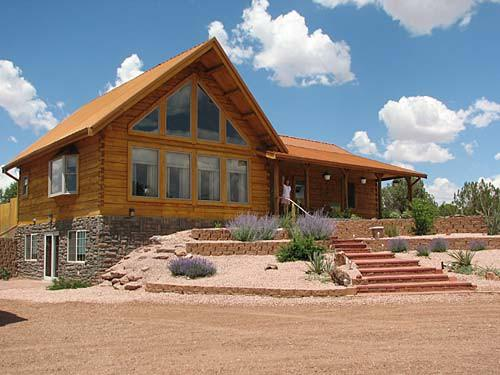Secluded Log Home Sale Northeastern Arizona