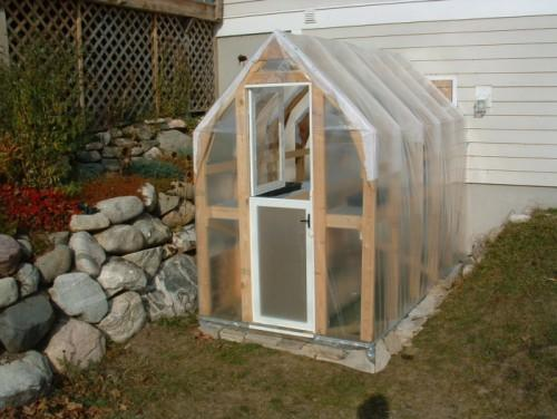 Seeing Sturdy But Little Homely Homemade Greenhouse