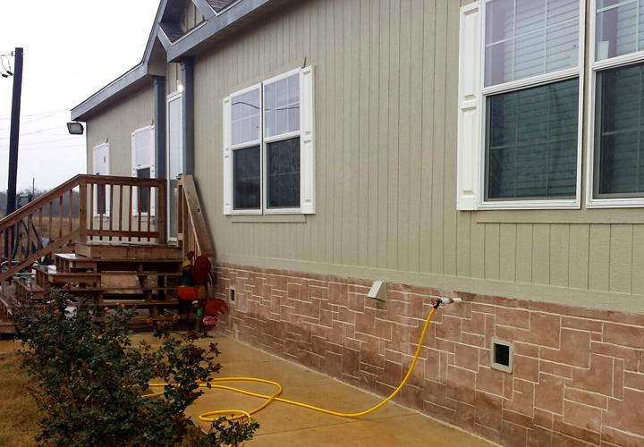 Segment Affordable Double Wide Skirting Ideas Your Mobile Homes