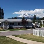 Senior Mobile Home Park Located Historic Town Mccloud