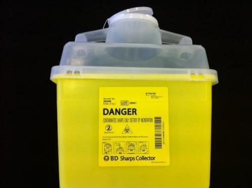 Sharps Collection Containers Disposal