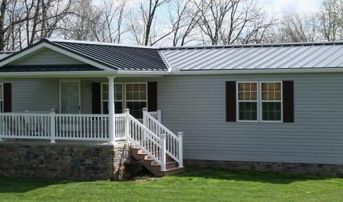 Sheffield Metals Standing Seam Light Gray