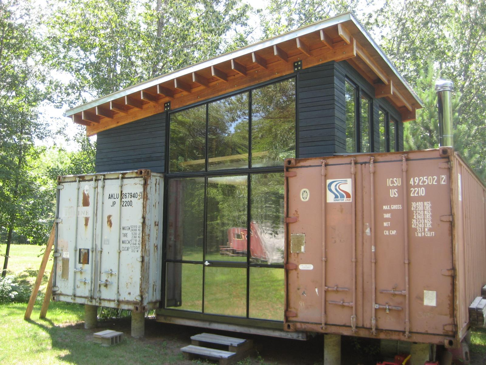 Shibby Shipping Container Cottage Conex House ...