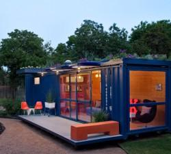 Shipping Containers House