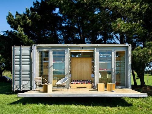 Shipping Container Home Compact Sustainable Port Bach