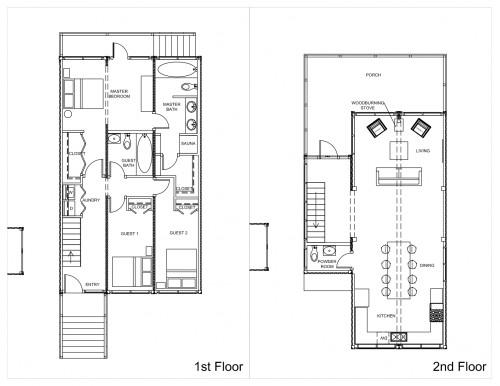 Shipping Container Home Floor Plan Simple