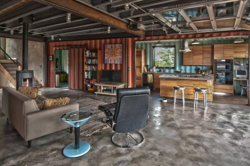 Shipping Container Home Inside Homes