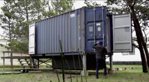 Shipping Container Home Surfshack Hartman Kable Grayland