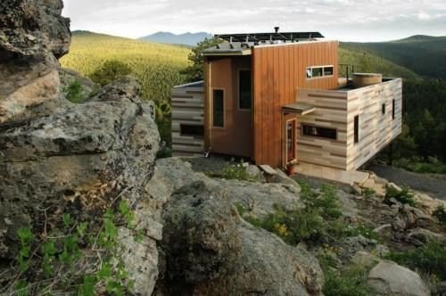 Shipping Container House Studio Solar