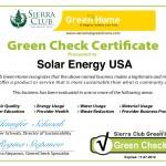 Sierra Club Green Home