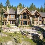 Similar Log Mansion Wholesale Homes