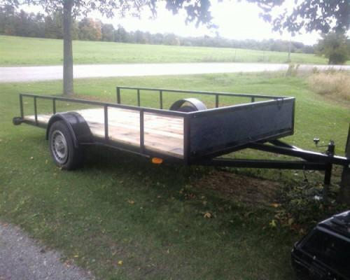 Single Axle Trailer Sale Brantford Ontario