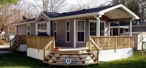 Single Section Home Manufactured Living News