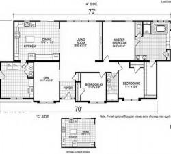 Double Wide Mobile Homes Floor Plans