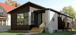 Small Contemporary Prefab Home Easy Build Sustainable