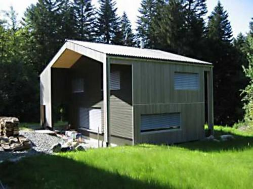 Small Eco Houses Guinnard Les Paccots Switzerland