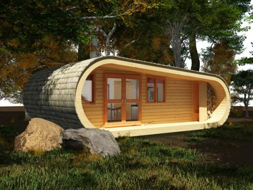 Small Eco Houses Sofa King Bed Another Room Two Beds