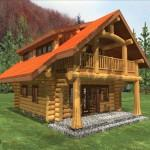 Small Log Cabin Homes