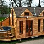 Small Log Cabin Mobile Home
