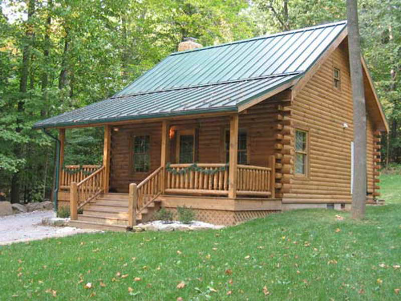 Small Log Home Plans Build Cabin Kits