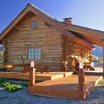 Small Log Homes Easy Quick Steps Building