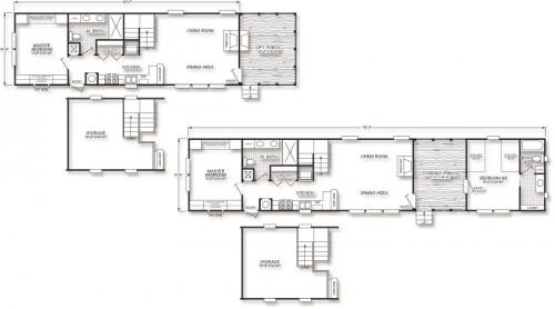 Small Manufactured Homes Floor Plans Plan