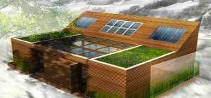 Small Mini Malist Structure Pinnacle Eco Friendly Smart Home