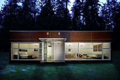 Small Prefab Homes Out Surrey