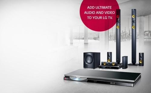 Smart Blu Ray Disc Players Home Theater Systems