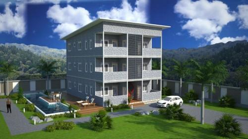 Soho Steel Structure Prefab Apartment Buildings Supplier