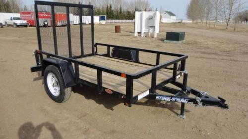 Sold Sure Trac Tube Top Utility Trailer