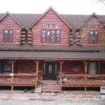 Southern Cedar Log Home Photos