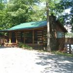 Southern Comfort Lakefront Log Home