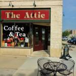 Space Outside Seating Attic Coffee House Green Bay