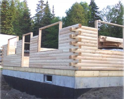 Speed Square Log Featuring Heavy Timber Starting Point Owner
