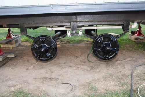 Spring Mobile Home Axle