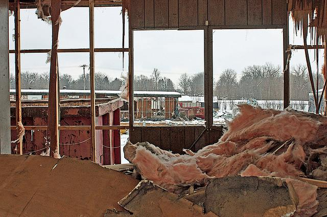 Springfield Mobile Home Salvage Yard Inside Looking Out