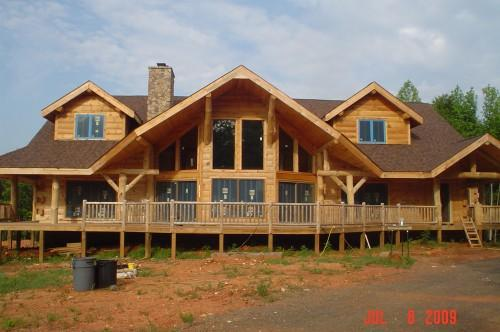 Square Foot Log Home Challenge Why Because There