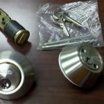 Stainless Steel Deadbolt Lock Double Cylinder