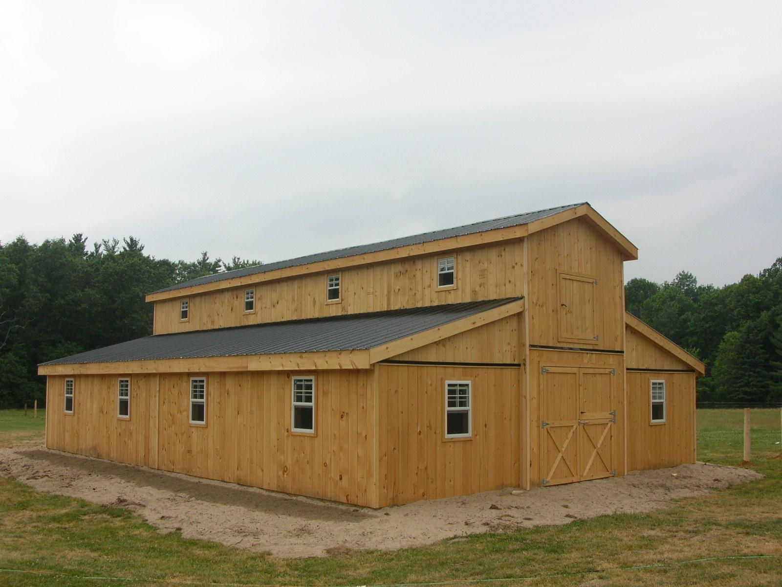 Stall Modular Horse Barn Single Storey
