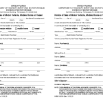 State Florida Bill Sale Motor Vehicle Form