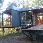 Steel Shipping Containers Homes Wood Walls
