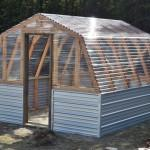Step Plans Build Barn Style Greenhouse