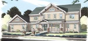 Stockbridge Simplex Modular Homes Two Story Floorplan