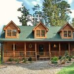 Stone Log Homes Beautiful Mountain Home