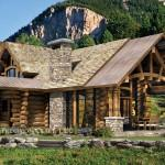 Stone Log Homes Custom Timber Frame Home