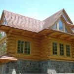 Stone Log Homes Line Custom
